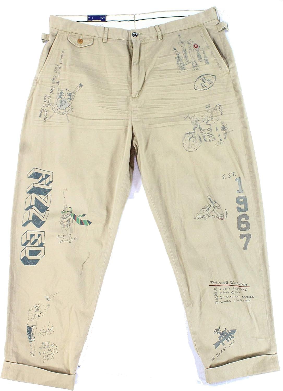Ralph Lauren Mens Twill Casual Chino Pants