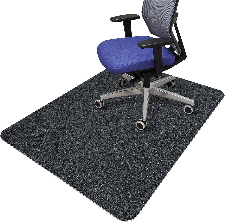 SALLOUS Chair Mat for Hard Floors, Office Chair Mat for Hardwood Floors, 1/4