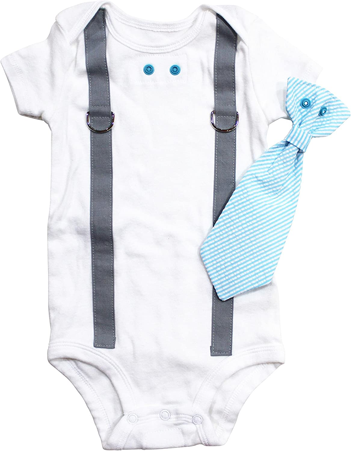 Tie and Suspenders with White Pants Christening Outfits for Boys Cuddle Sleep Dream Baby Boy Baptism Outfit Cotton