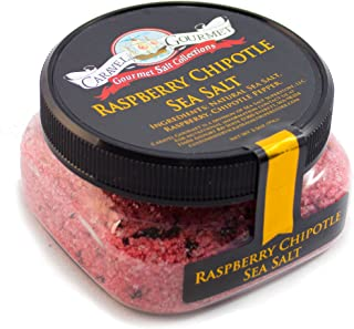 comprar comparacion Sal delmar - Frambuesa Chipotle - Natural Sal del mar con la infusión de frambuesa y Chipotle Peppers, brillante, intrépid...