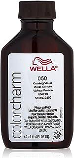 Wella Color Charm 050 Cooling Violet Liquid toner Hair Color