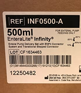 Moog 500ml Enteralite Infinity Bags 30 Count Box REF INF0500