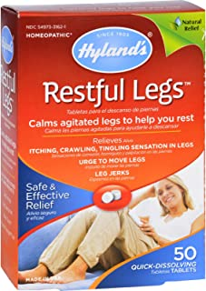 Hylands Homeopathic Restful Legs - 50 Tablets , Hylands , Homeopathic Remedies, Health & Beauty