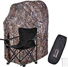 AW Fold Chair Ground Deer Hunting Blind Woods Camouflage Turkey Hunting Tent 1 Man Fold Chair