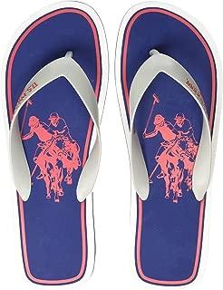 US Polo Association Men's Sardinian Flip Flops Thong Sandals