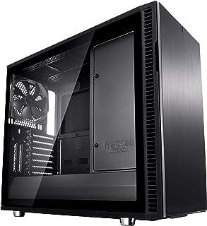 Fractal Design FD CA DEF R6C BKO TGL Define R6 Blackout Tempered Glass USB C Gehäuse
