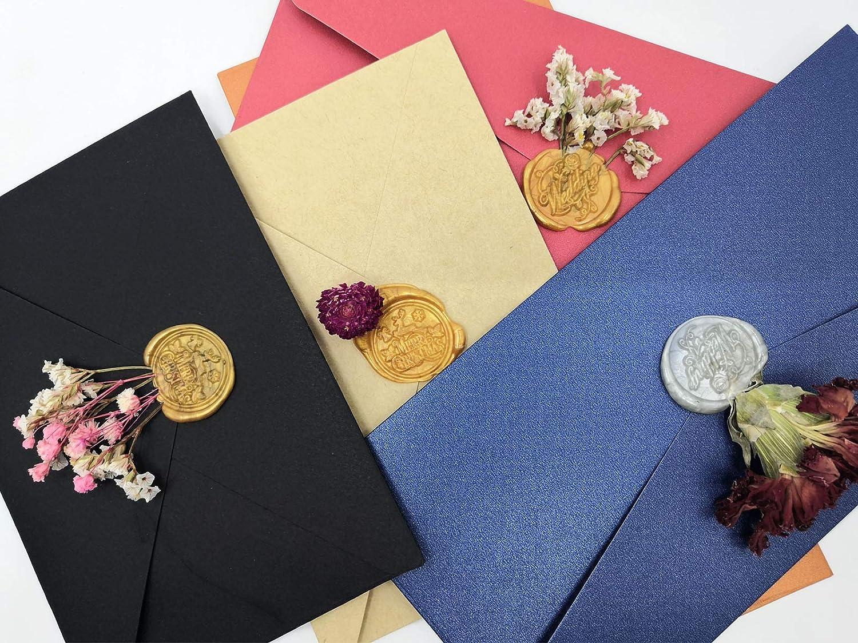7 x 100 mm 20 pezzi Bastoncini di colla a caldo per sigillo di lettere oro biglietti di auguri cartoline ideali per inviti di matrimonio postali di lumaca buste idee regalo Varacl