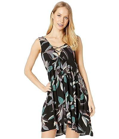 Rip Curl Palm Bay Dress (Black) Women