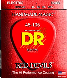 DR Strings Red Devils - Extra-Life Red Coated Bass 45-105
