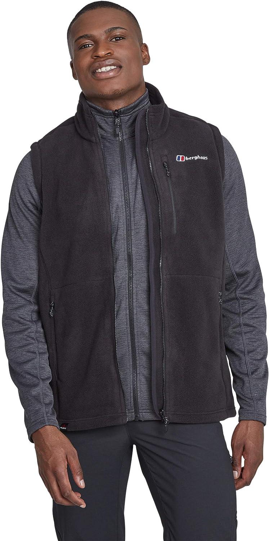 mart Berghaus Mens Full Fleece Luxury Zip Jacket