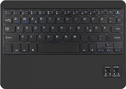 IVSO 9 7 Zoll Bluetooth Tastatur Deutsches QWERTZ Layout Tragbare Kabellose Tastatur Kompatibel mit Android Windows IOS und Anderen Bluetooth Ger ten Schwarz Schätzpreis : 15,95 €