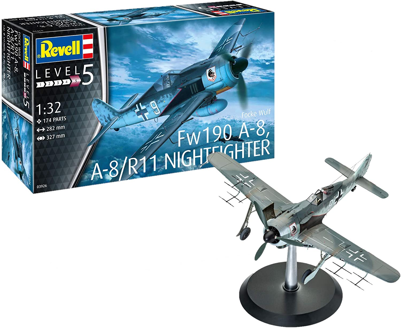 Revell 03926 Focke Wulf Fw190 A8 Nightfighte Model Kit
