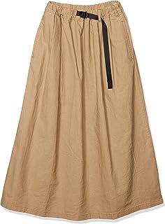 [グラミチ] ウィメンズロングスカート LINEN COTTON LONG FLARE SKIRT