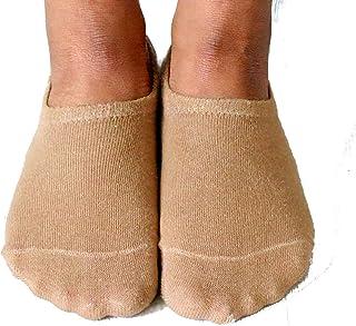 No Show Socks Mens Womens Skin Tone Socks Cotton Thin Non-Slip Low Cut Invisible Sock Liner Casual Socks Comfortable Train...