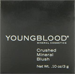 Youngblood Clean Luxury Cosmetics Crushed Mineral Blush, Rouge | Mineral Blush Powder Blush Loose Blush Minerals Blush For...