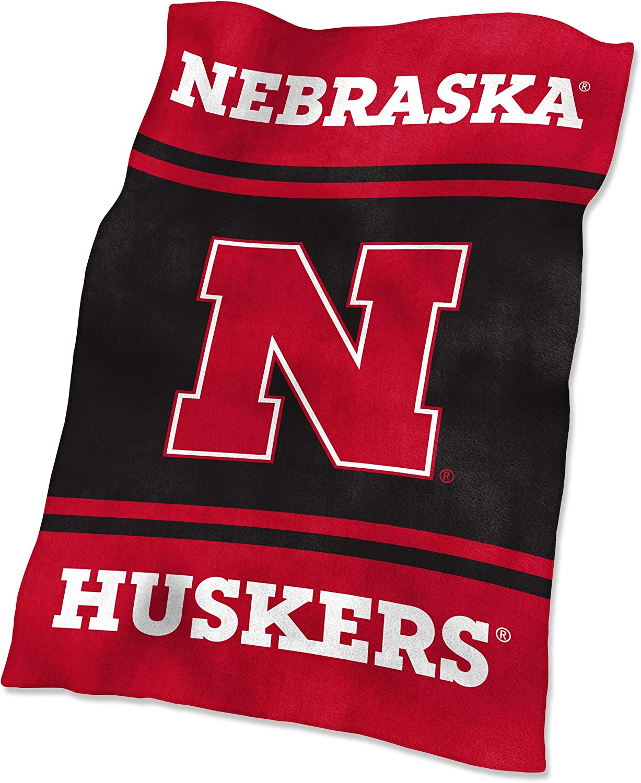 Logo Brands Nebraska Ultra Soft Blanket