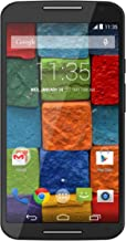 Motorola Moto X (2nd Generation) - Black Leather - 16 GB (U.S. Warranty) Unlocked Phone