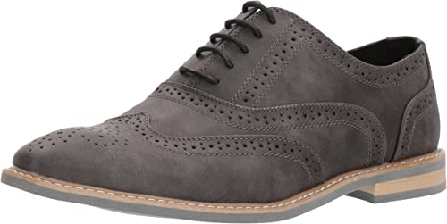 Unlisted by Kenneth Cole Men& 039;s JOSS Oxford, grau, 11.5 M US