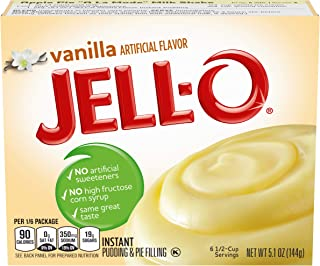Jell-O Instant Pudding And Pie Filling - French Vanilla - 5.1 Ounces