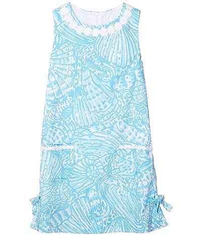 Lilly Pulitzer Kids Little Lilly Classic Shift Dress (Toddler/Little Kids/Big Kids) (Succulent Blue Sea Cups) Girl