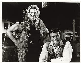 Wild Wild West Robert Conrad & Ross Martin 8x10 Photo with Ross in drag
