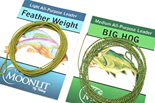 All-Purpose Leader Combo with Moonlit Featherweight & Big Hog Furled Fly Fishing Leaders