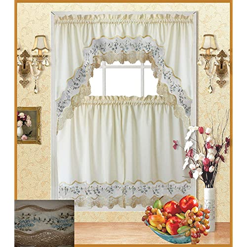 Tremendous Cafe Curtains With Valance Amazon Com Home Interior And Landscaping Palasignezvosmurscom