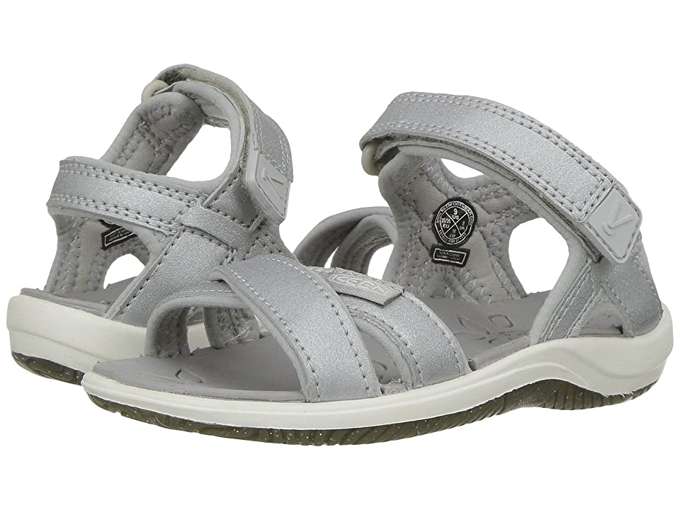 Keen Kids Phoebe (Toddler/Little Kid) (Silver) Girls Shoes