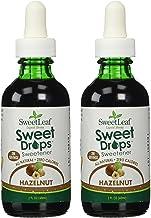 SweetLeaf Sweet Drops Liquid Stevia Sweetener, Hazelnut, 2 Fl Oz (Pack of 2)