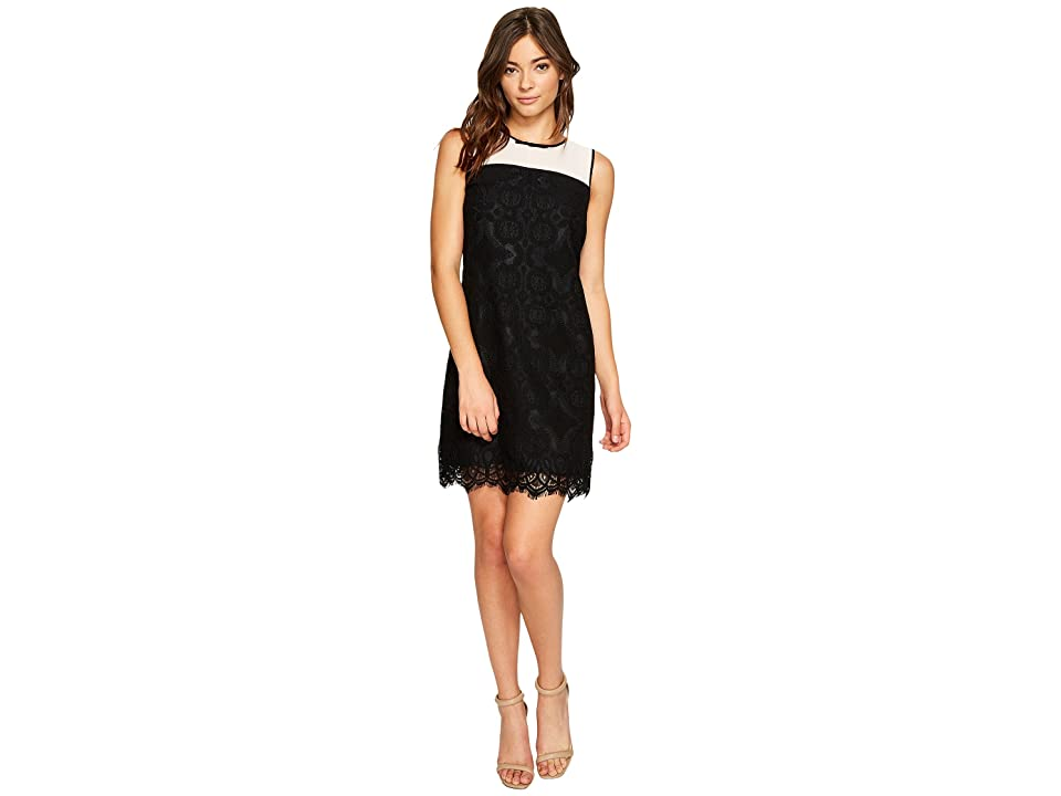 CeCe Savannah Sleeveless Medall (Rich Black) Women