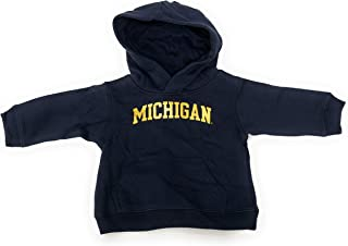 Michigan Wolverines NCAA Infant Navy Pull Over Hooded Sweatshirt