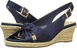Navy Silk