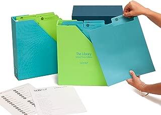 Kids-Keepsake-Box-Memory-Box-Organizer for School Work-Awards-Certificates-Diploma-Kids Art Work-Teen Tween Gift-Handmade-Customizable-Personalized-Tween Gift-Bar Mitzvah Gift-Graduation(Ocean)
