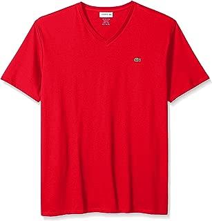 Men's Short Sleeve V-Neck Pima Cotton Jersey T-Shirt