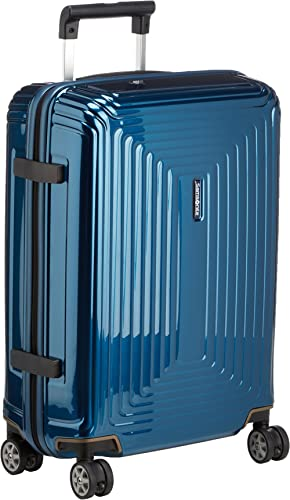 Samsonite Neopulse - Spinner S (Ancho: 20 cm) Equipaje de Mano, 55 cm, 38 L, Azul (Metallic Blue)