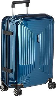 Samsonite Neopulse - Spinner S (Largeur : 20 cm) Bagage à Main, 55 cm, 38 L, Bleu (Metallic Blue)