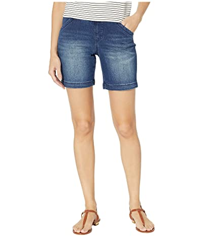 Jag Jeans 8 Gracie Pull-On Shorts in Denim (Flatiron) Women