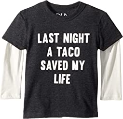 Tacos Saved My Life Twofer Tee (Toddler/Little Kids)