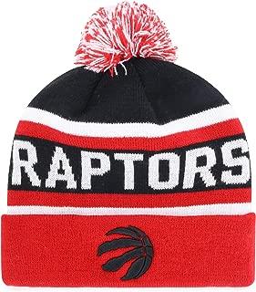 OTS NBA Men's Jasper Cuff Knit Cap with Pom