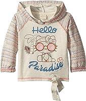 Hello Kitty® Paradise Long Sleeve Fleece (Toddler/Little Kids)