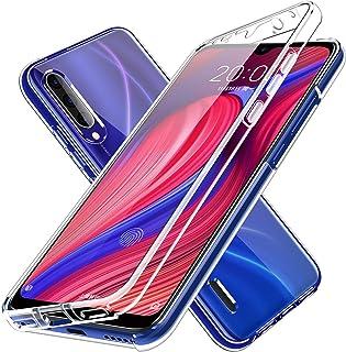 LXHGrowH Funda para Xiaomi Mi Mix 2S - Carcasa Completa Anti-Shock [360°] Full Body Protección [Silicona TPU Frente] y [Duro PC Back] para Xiaomi Mi Mix 2S - Cover Doble [Transparente]
