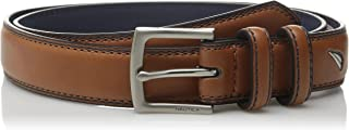 Nautica Men's Big Boys Double Loop Belt with Stitch Detail