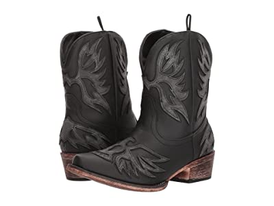 Roper Amelia (Faux Black Vamp) Cowboy Boots