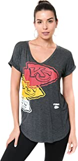 NFL Women's Soft V-Neck Tee Shirt