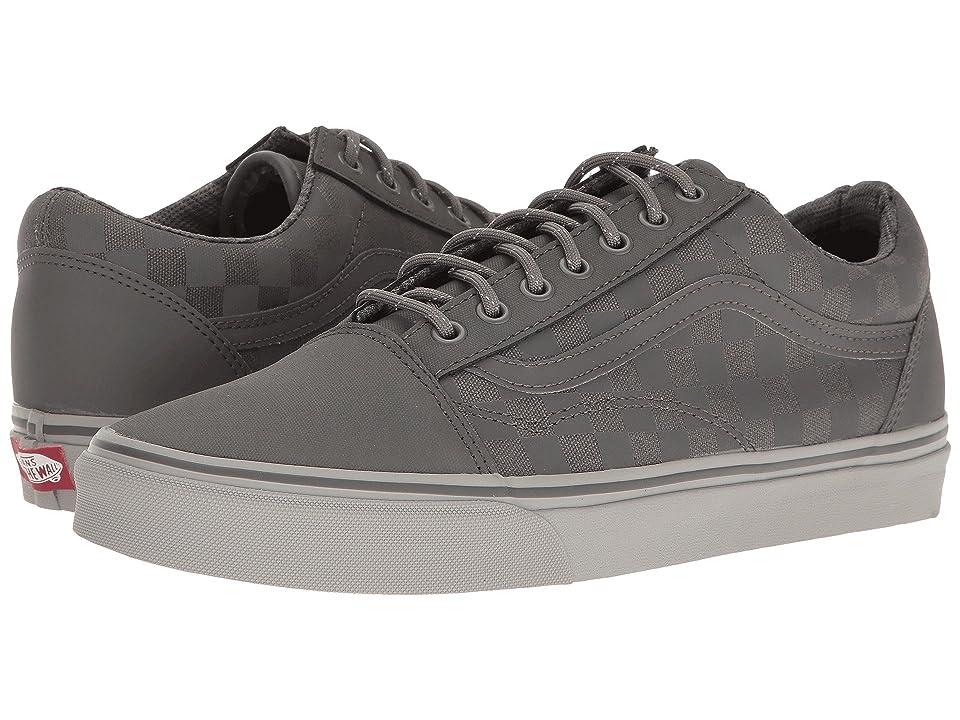 Vans Old Skool DX ((Transit Line) Pewter/Reflective) Skate Shoes