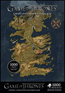 Dark Horse Deluxe Game of Thrones: Map of Westeros 1, 000Piece Puzzle