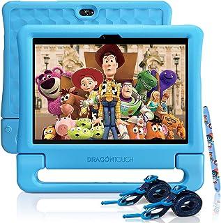 Dragon Touch KidzPad Y88X 10 Kids Tablets, 2GB RAM 32GB ROM, Quad-Core Processor, 10.1 IPS HD Display, Age-Appropriate App...