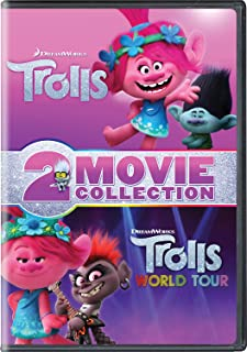 Trolls / Trolls World Tour 2-Movie Collection