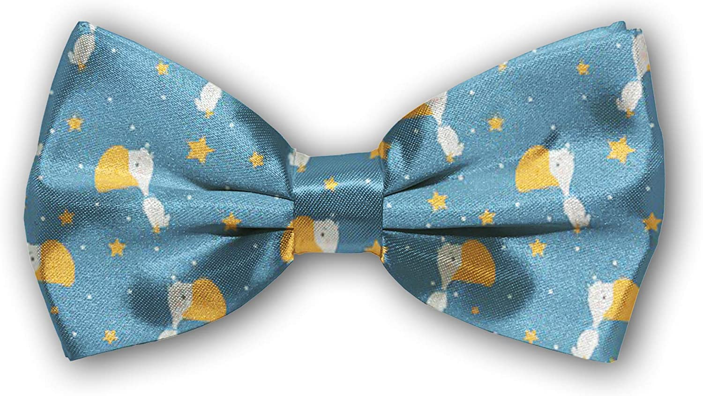 Bow 4 years warranty Tie Tuxedo Butterfly Houston Mall Cotton for Adjustable Boys Bowtie Mens