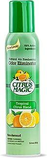 Citrus Magic Natural Odor Eliminating Air Freshener Spray Tropical Citrus Blend, 3-Ounce